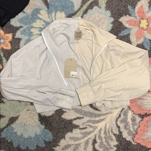 NWT LF x FURST OF A KIND CROPPED ZIP UP SHIRT